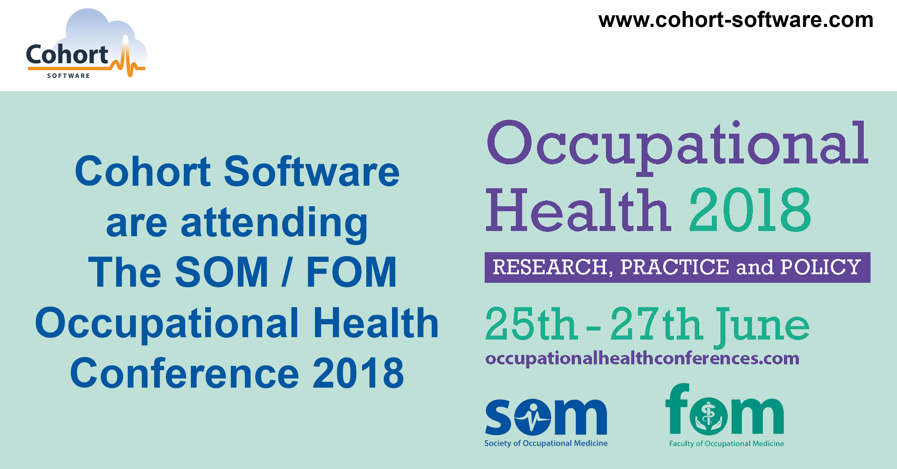 SOM/FOM Occupational Health Conference 2018